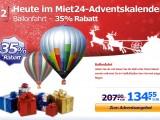 Adventsaktion: 35% Rabatt auf eine Ballonfahrt