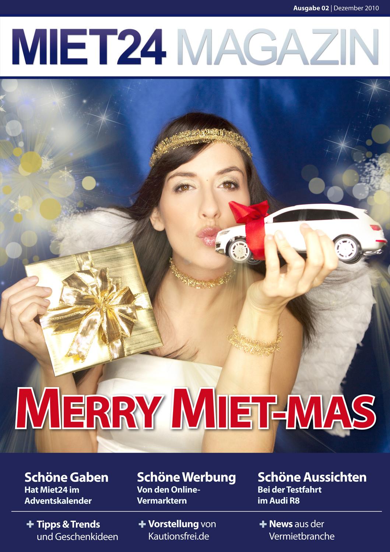 Merry Miet-Mas: Zweites Miet24 Magazin veröffentlicht