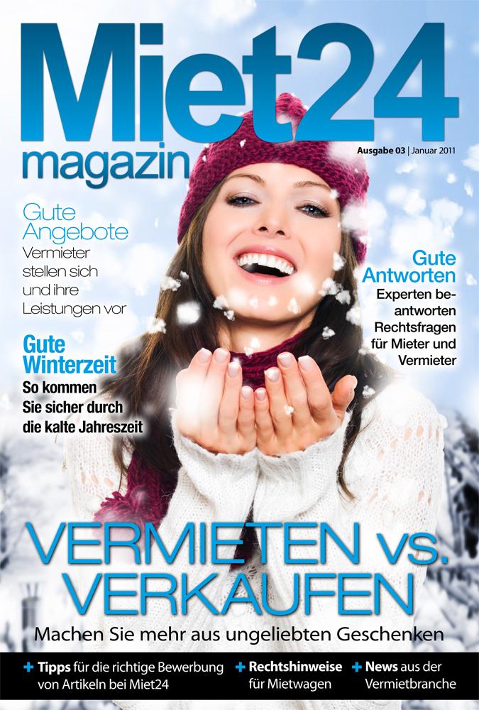 Drittes Miet24 Magazin veröffentlicht