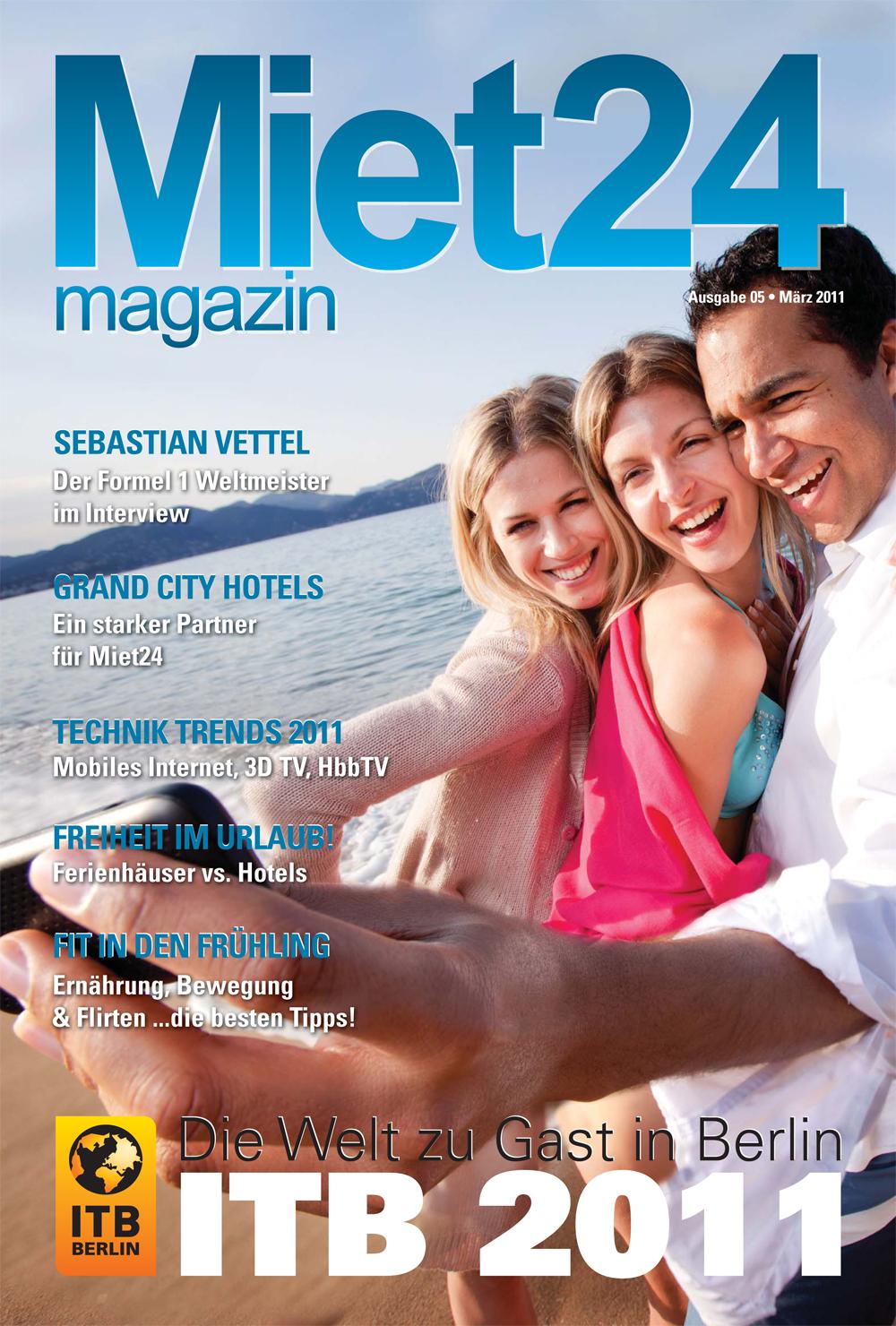 Urlaubsziele und Techniktrends im Miet24 Magazin