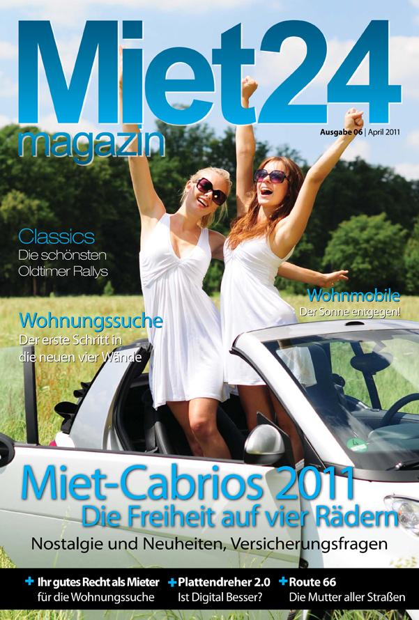 Miet-Cabrios im Miet24 Magazin