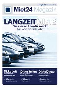 Glückwunsch zum Miet24 Magazin!