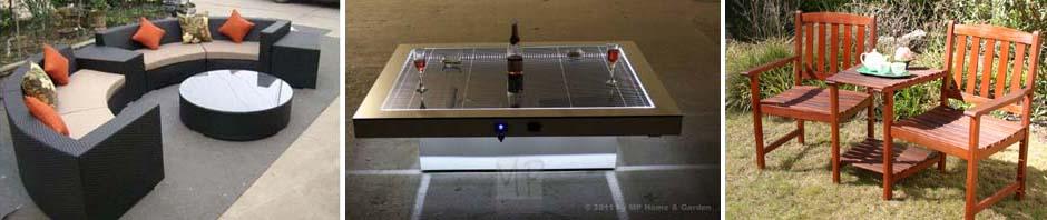 Der Solartisch – stylishes Möbel und Ladestation in einem