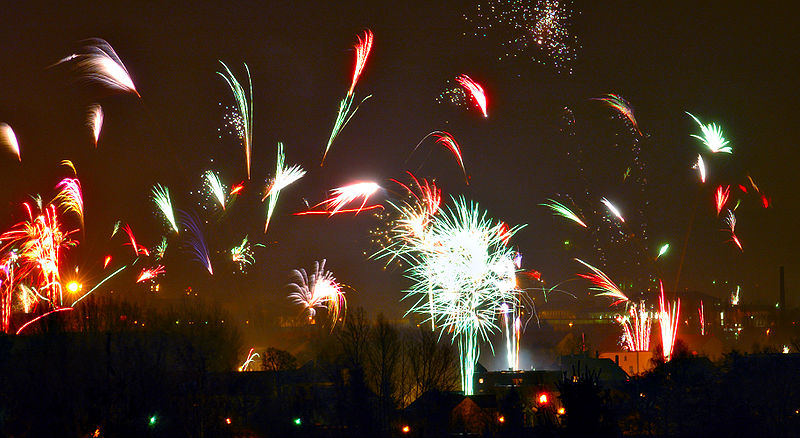 Auf ins neue Jahr!
