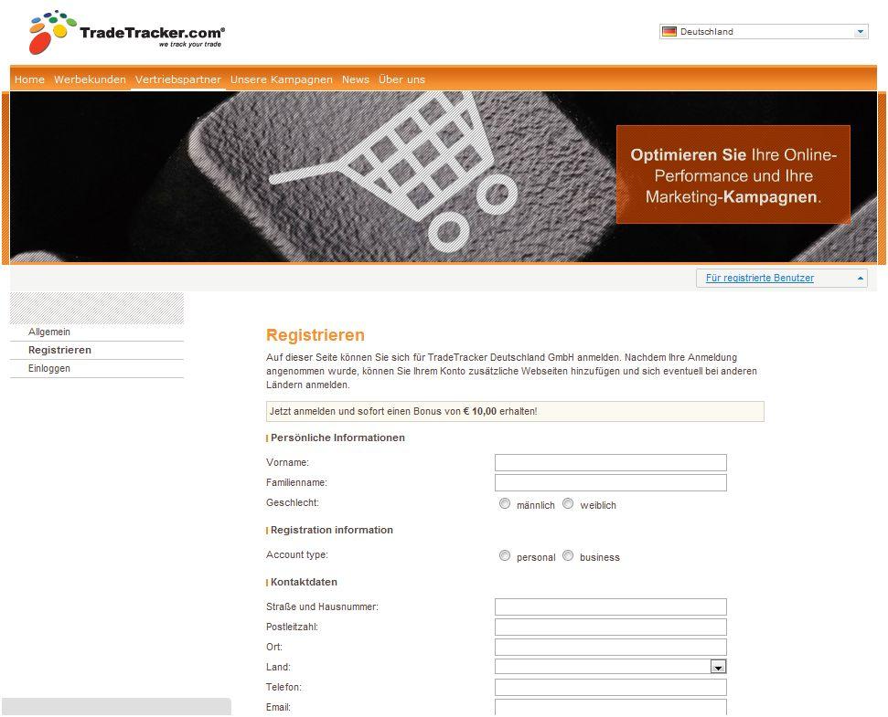 Miet24-Partnerprogramm startet jetzt bei TradeTracker